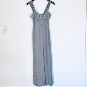 Max Studio Chevron Striped Maxi Dress M